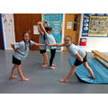 Practising partner balances.