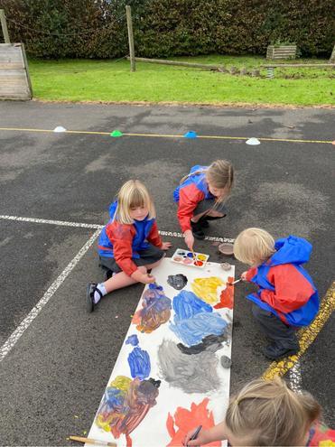 Reception- collaborative art