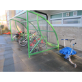 Key Stage 2 bike shelter