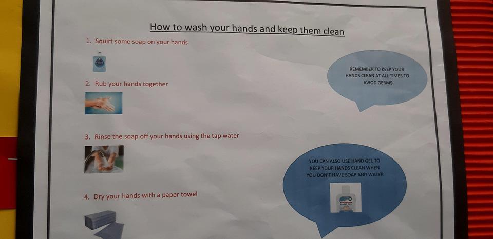 Hygiene and handwashing