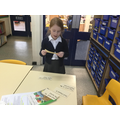 Olivia does guided reading