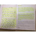 Anthony's Handwriting Practice
