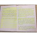 Tyler's Handwriting Practice