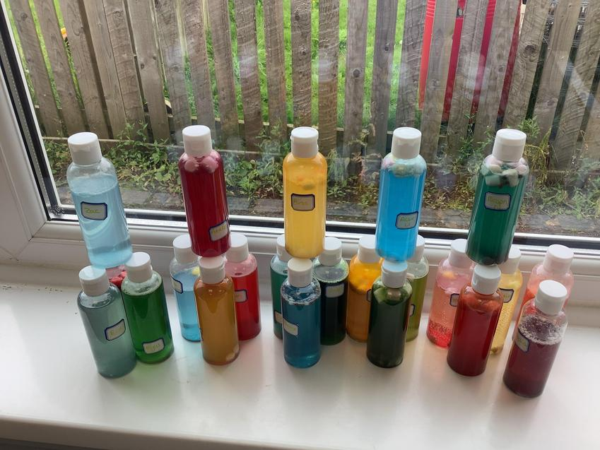 Harry Potter Day Potions.