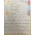 Some of our amazing topic homework