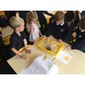 Testing properties of rocks