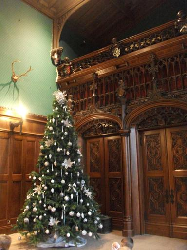 Christmas at Newstead Abbey