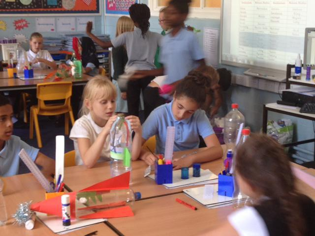 Working with our friends at Brettenham Primary