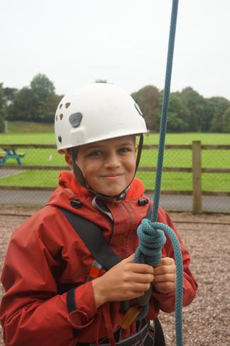 Loving the high ropes!