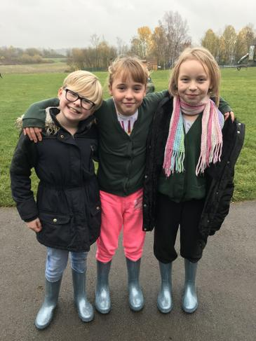 Wellington boot triplets!