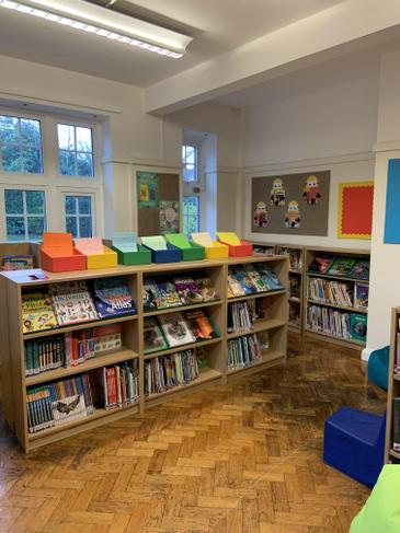 Our wonderful new library is now open!