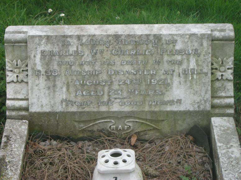 C.W. Penson Sleaford Cemetery (S345)