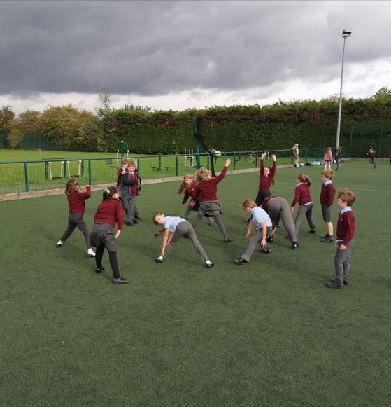 Y5's initiating mass warm-up