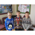 3rd, 1st and 12th  Y3&4 Cross-country Championship