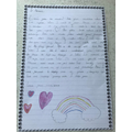Emma's heart-warming letter to a loved one