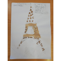 Eliza's Eiffel Tower work