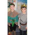 Robin Hood and the Sheriff of  Nottingham