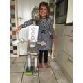 Ella's enormous robot!