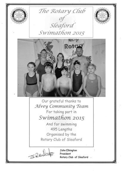 Rotary Swimarathon 2015