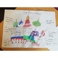 Sophie's St Basil's Cathedral work