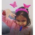 Neha's Magical 'floating pen' trick