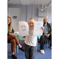 Ryan earns his certificate