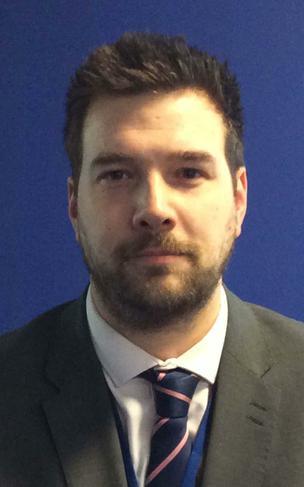 Mr James Walker, Co-opted,  Curriculum Team