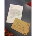 Our special letter from Santa Claus 🎅 💫📜