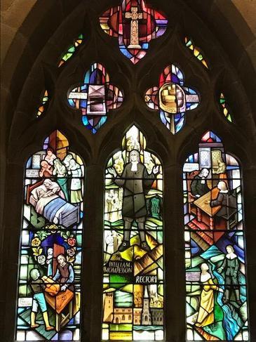 The famous 'Plague Window'