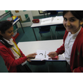 Inaya (Y4) and her family made Ramadan cards for her friends