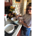 Baking for the street party!