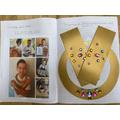 Pharaoh's collar crafts