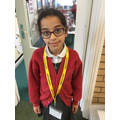 Mariam (Y4) who was fasting during Ramadan, well done for showing resilience!