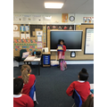 A story linked to Ramadan read by Mishal (Y2)