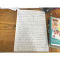 Emily's story! Great work, well done!