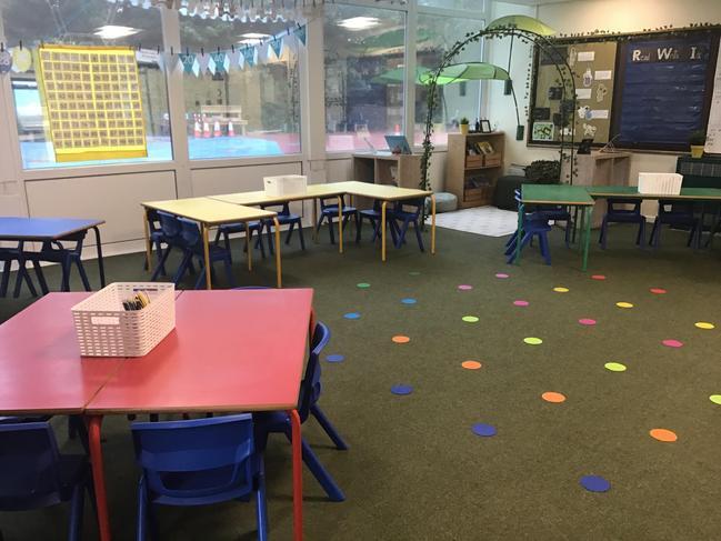 Squirrels classroom