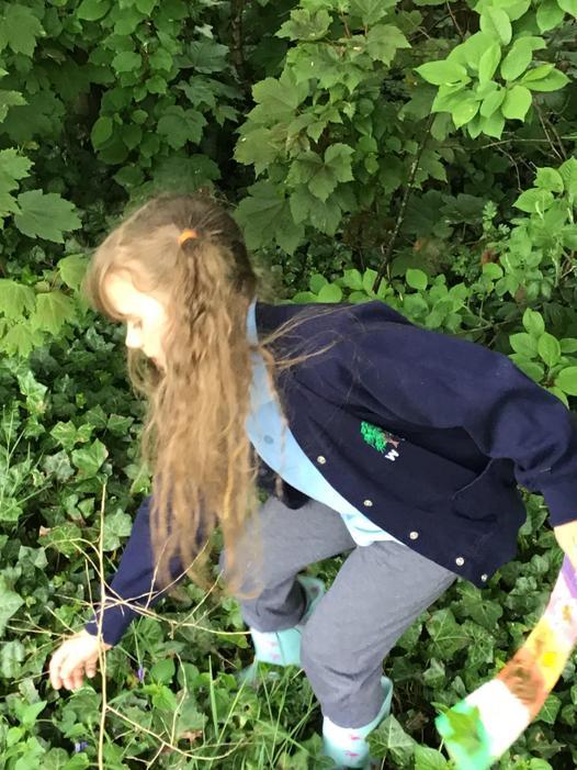 We went on a Nature Scavenger Hunt.
