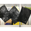 Making hand print pictures