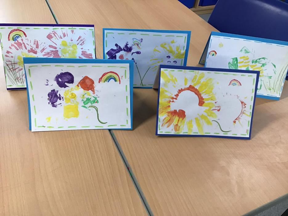Our cards were sent to Shawcross Care Home.