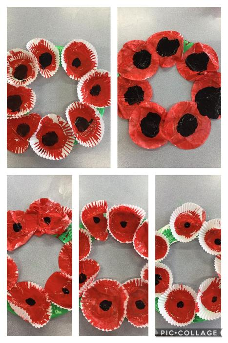 Our poppy wreaths
