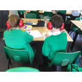 Sometimes children need ear defenders if they need to decrease their sensory overload