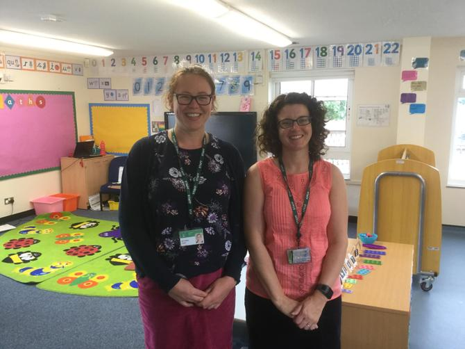 Mrs Davies and Mrs Kyte (class teachers)