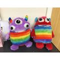 Our worry monsters support your anxieties
