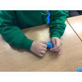 We use putty in class to help our concentration.
