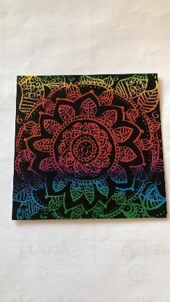 Mrs Sullivan's daughter's Zentangle Art