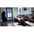 Mdme Barbara teaching her class.