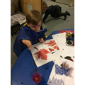 Exploring 'Autumn Colours' and painting leaves