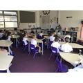 The children interviewed the Big Bad Wolf.