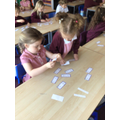 We have been learning to count in multiples of 10s, 5s and 2s.