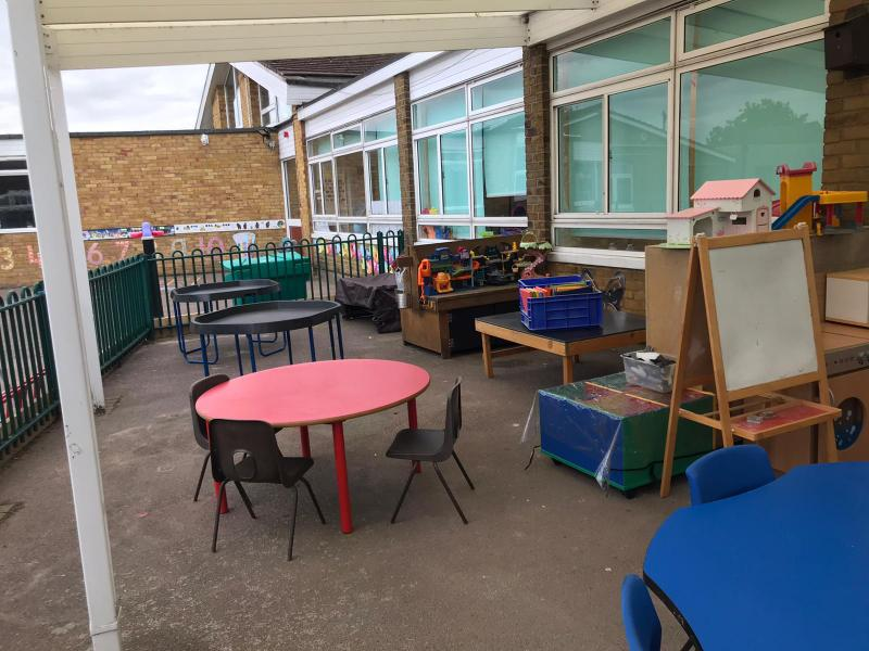 Plenty of space to learn outside
